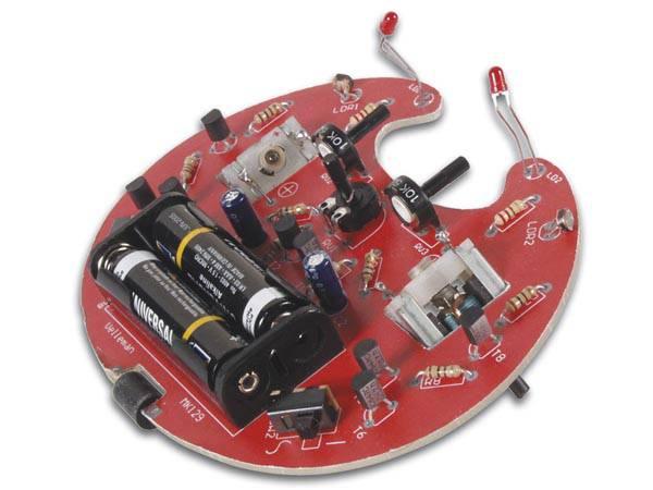 Velleman WHADDA WSAK129 Crawling Microbug Kit, Elektronikkbygges